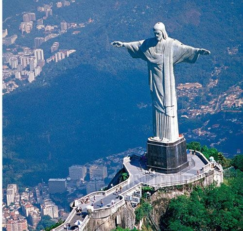 Статуя христа спасителя где находиться